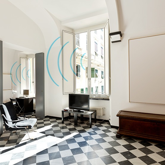 isolamento acustico casa