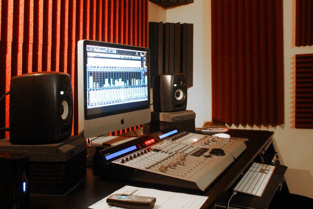 Home recording studio 2