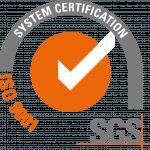 logo certificazione ISO 9001:2015